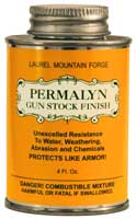 Permalyn Gun Stock Finish - 4 oz.